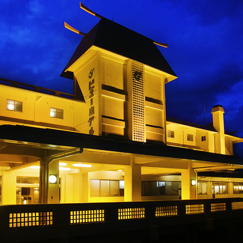 日本海の夕日を露天風呂と客室で満喫する宿  瀬波ビューホテル