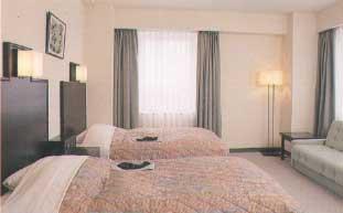 室内例:ツインルーム