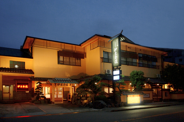 露天付客室 貸切露天風呂 伊豆の旅館 伊古奈荘