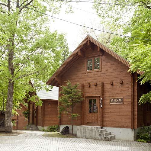 白馬のログコテージ・貸別荘 感木