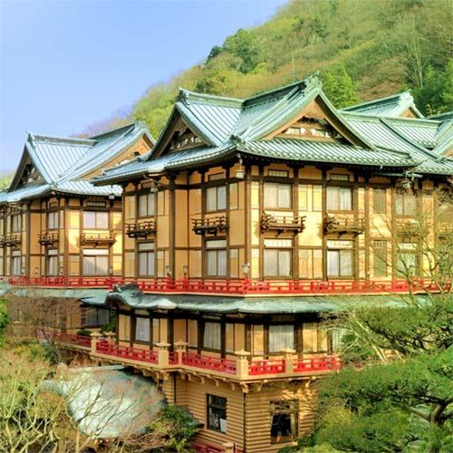 【特急列車付プラン】宮ノ下温泉 富士屋ホテル(びゅうトラベルサービス提供)