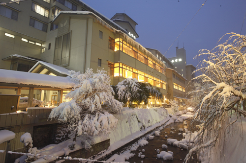 【新幹線付プラン】鶯宿温泉 長栄館(びゅうトラベルサービス提供)