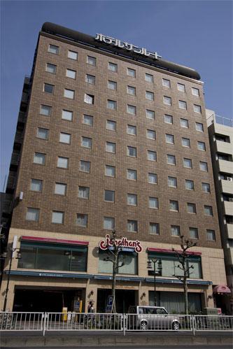 【新幹線付プラン】ホテルサンルート浅草(びゅうトラベルサービス提供)