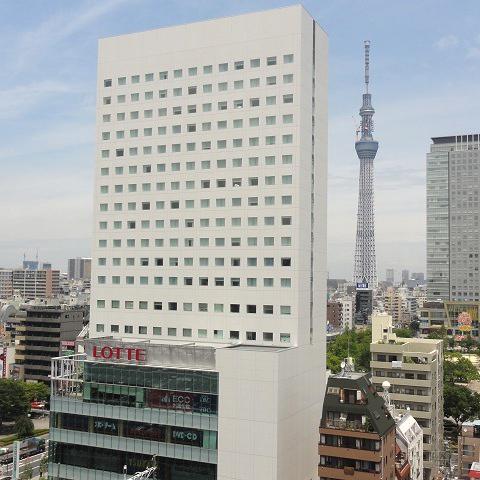 【新幹線付プラン】ロッテシティホテル錦糸町(びゅうトラベルサービス提供)