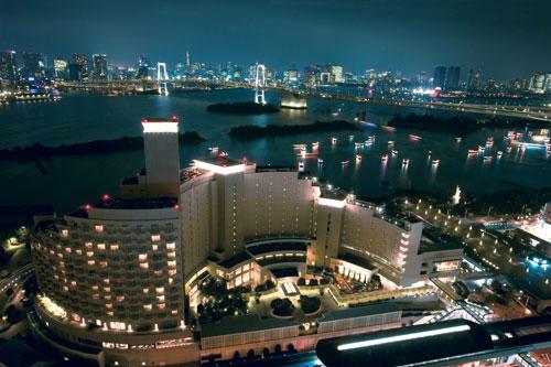 【新幹線付プラン】ヒルトン東京お台場(旧:ホテル日航東京)(びゅうトラベルサービス提供)