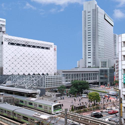 【新幹線付プラン】渋谷エクセルホテル東急(びゅうトラベルサービス提供)