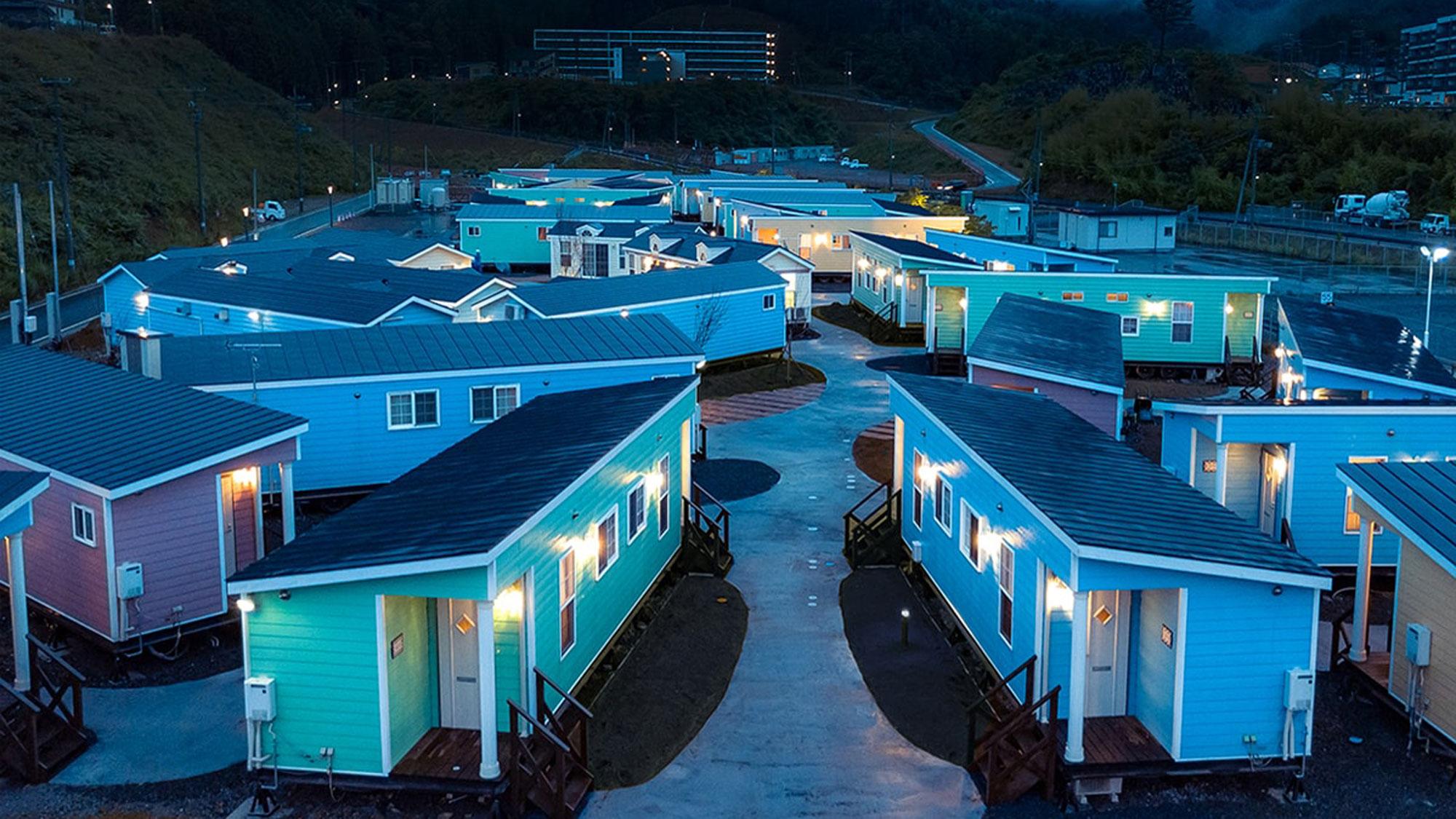 ホテル・エルファロ =女川トレーラーハウス宿泊村=