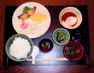 Breakfast Sample 2 ( Japanese-Style )