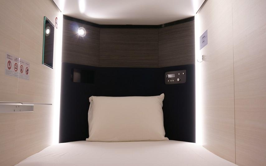 女性だけが泊まれるカプセルホテル 秋葉原BAY HOTEL(秋葉原ベイホテル)(2016年5月26日