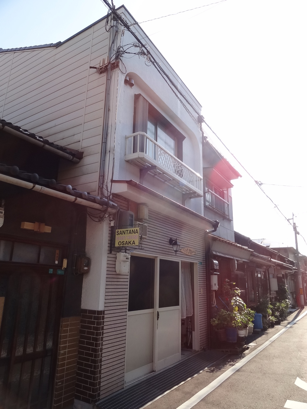 サンタナゲストハウス大阪