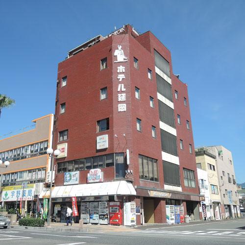 駐車場無料 駅正面に位置するホテル ビジネスホテル延岡