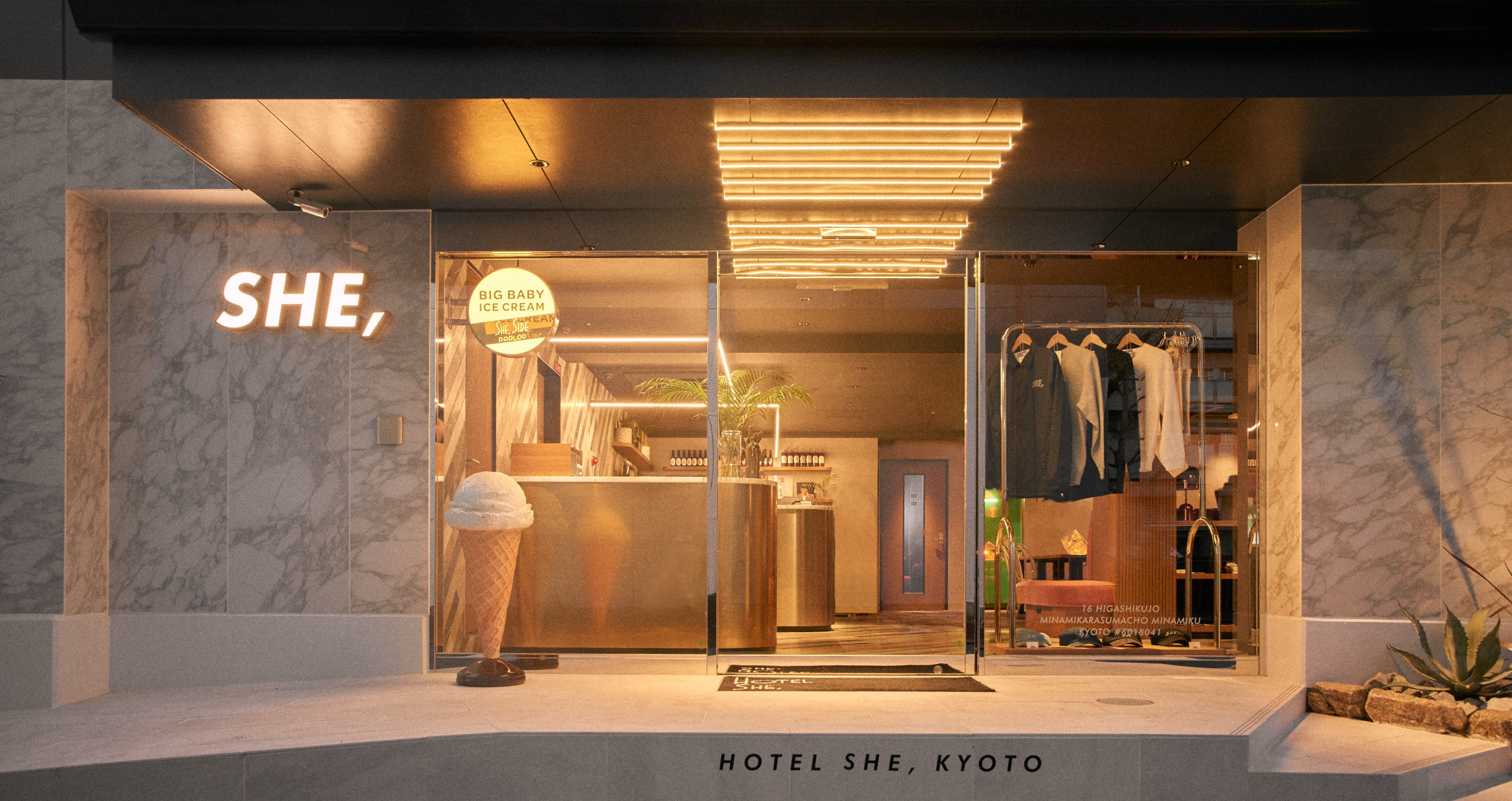 HOTEL SHE,KYOTO