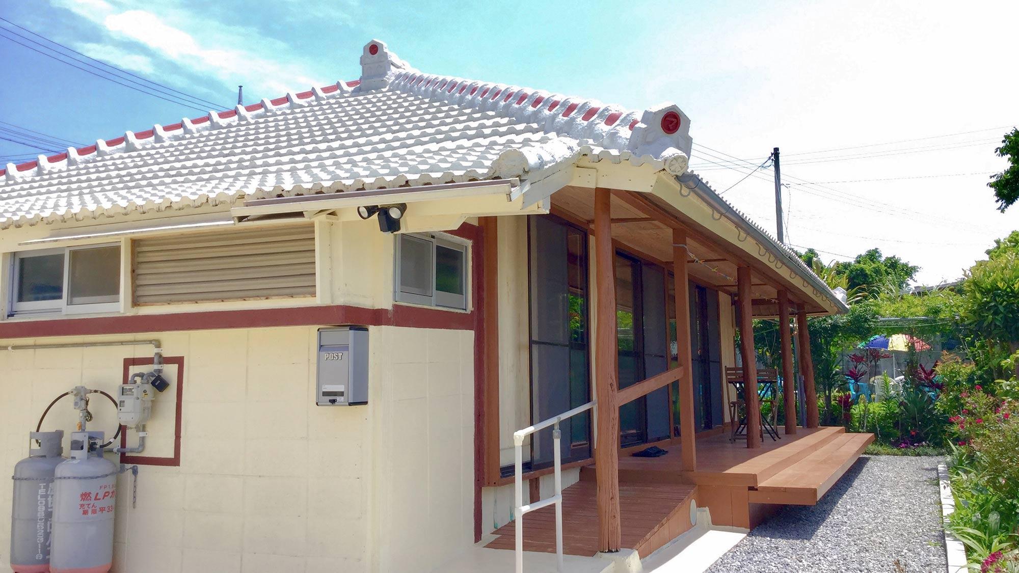 琉球の家 古宇利島 KANAU