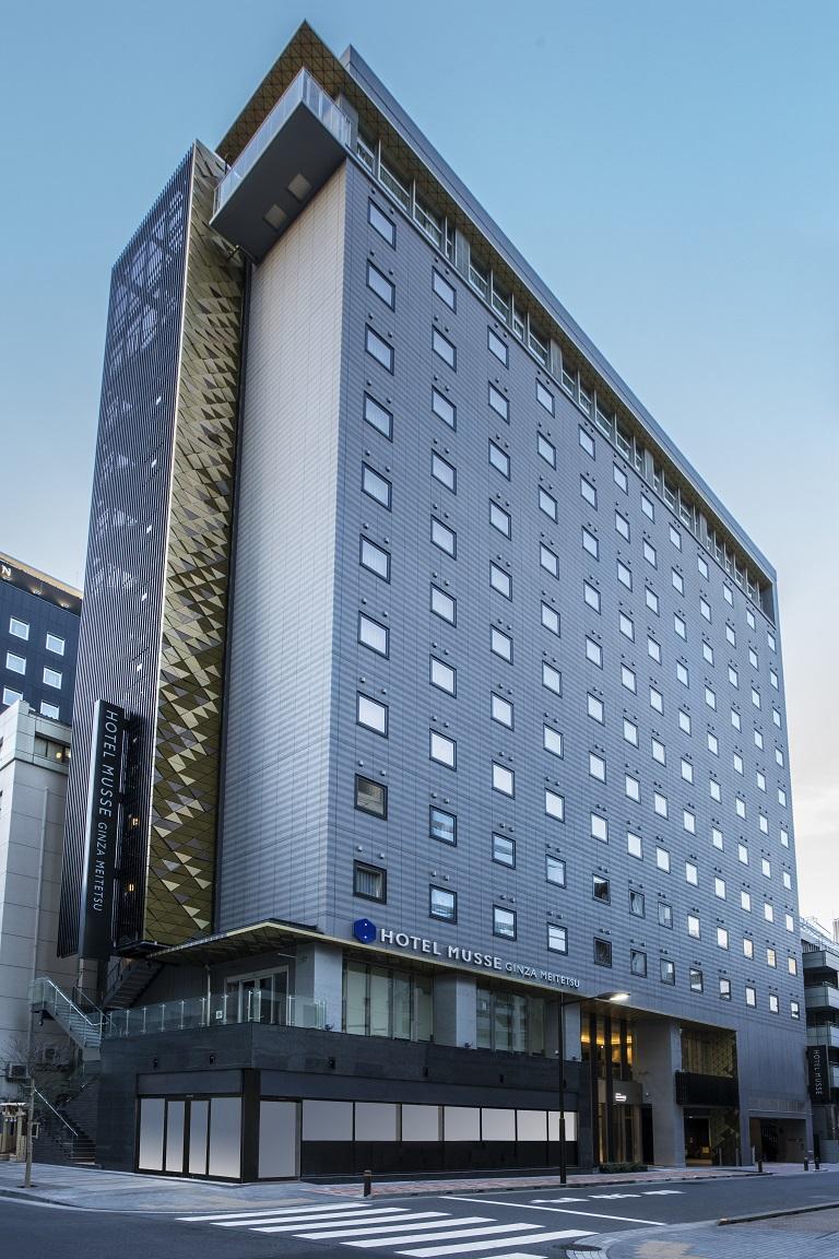 ホテルミュッセ銀座名鉄(2018年3月1日オープン)
