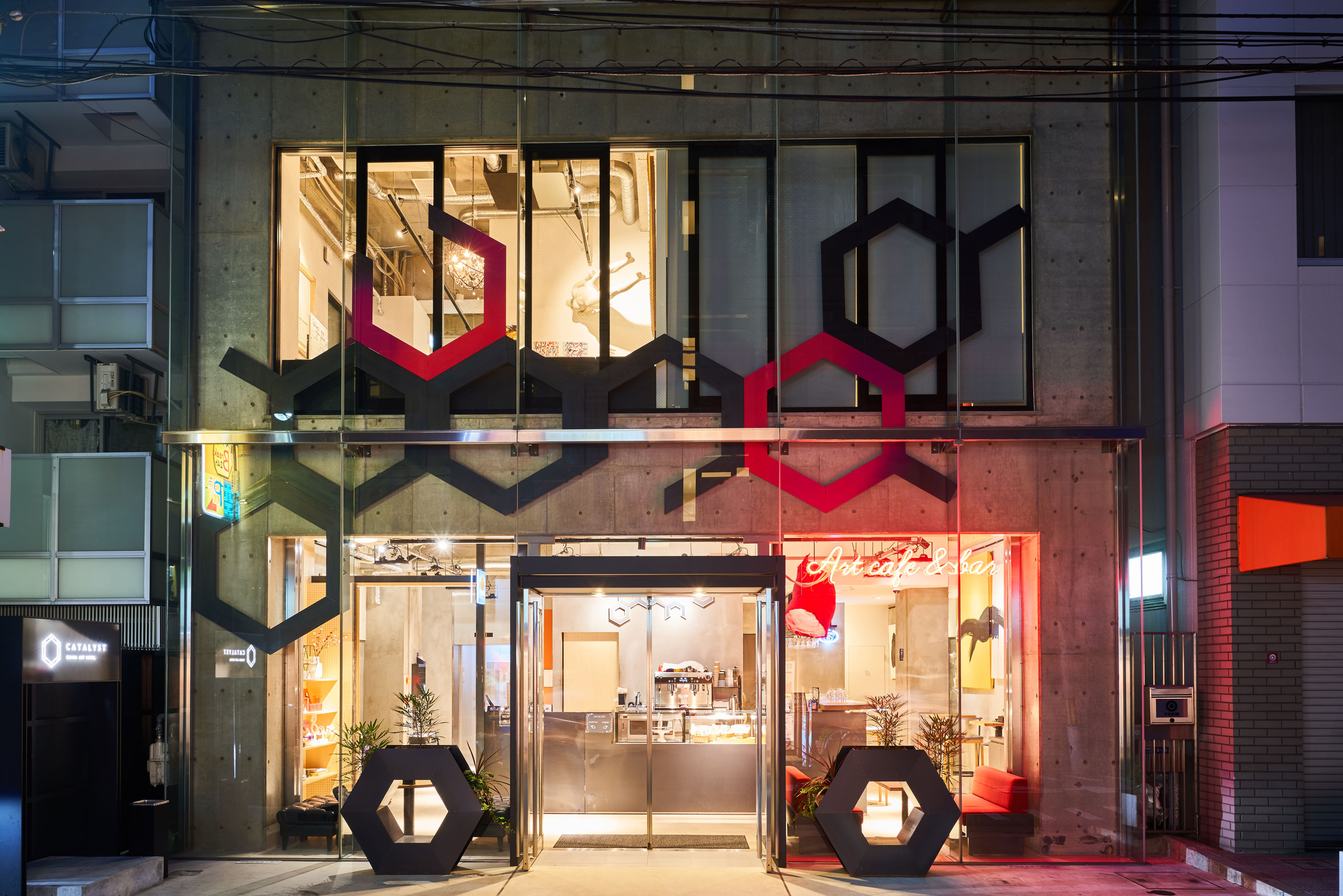 RakutenSTAYHOSTEL Art cafe&bar OSAKA Shinsaibashi