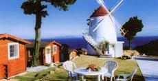 白浜 コテージ風車