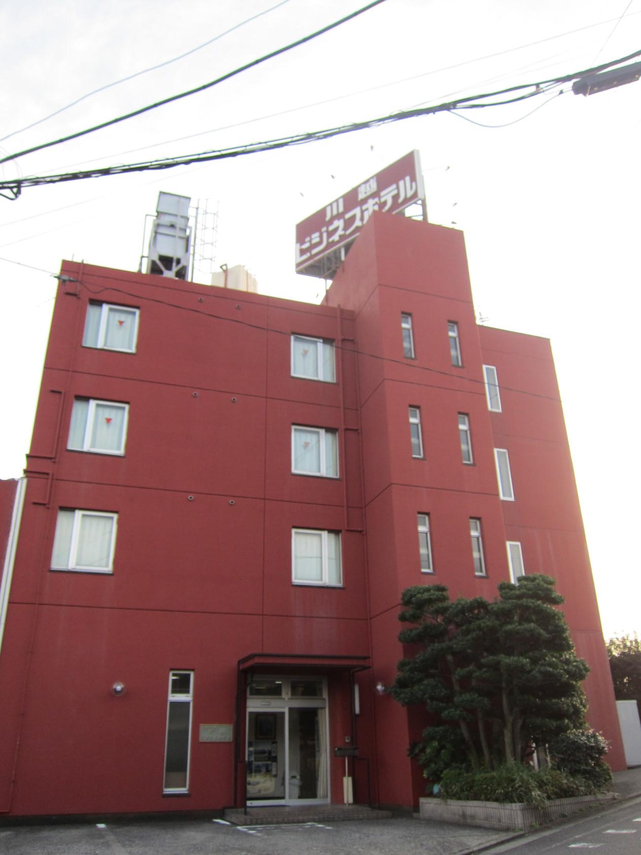 川越ビジネスホテルの外観