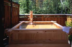 手作り貸切露天風呂