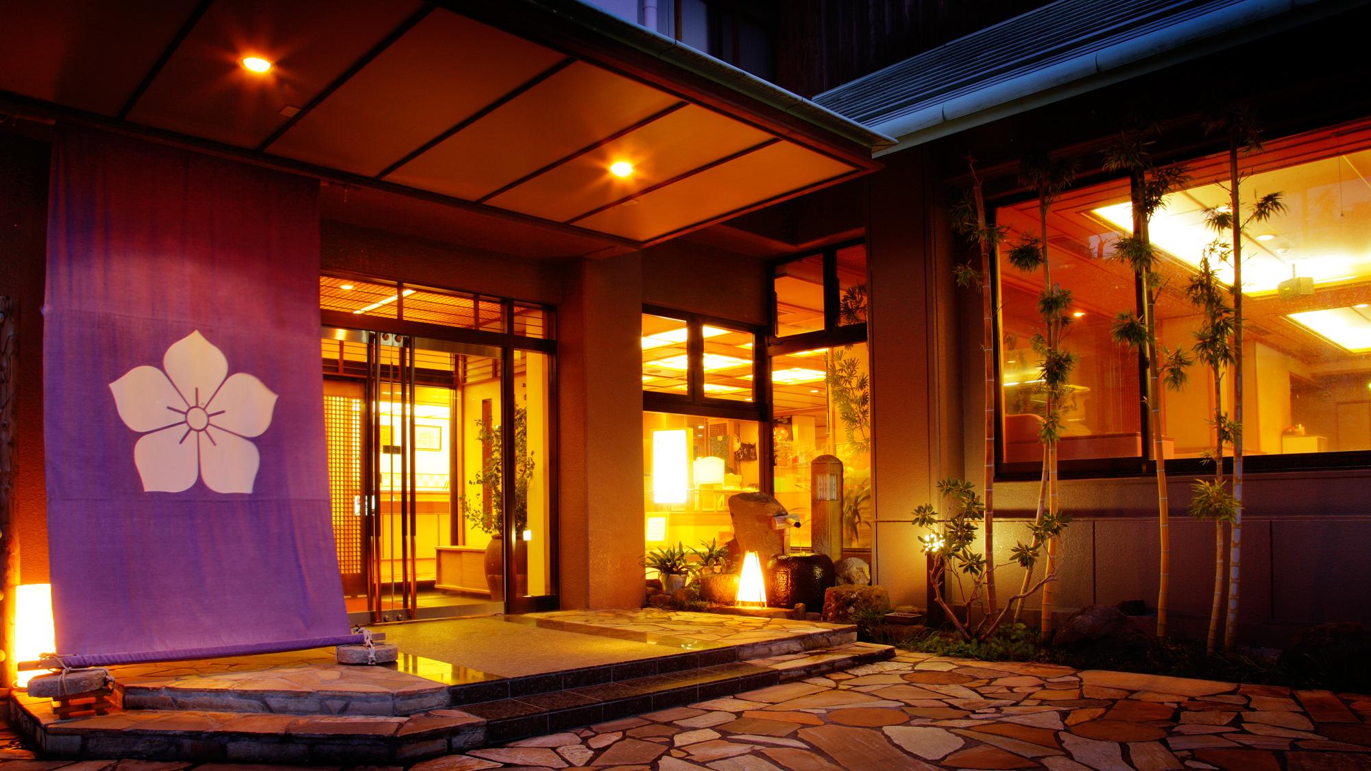 3つの貸切風呂と露天付き客室が人気の宿 旅館さくらい