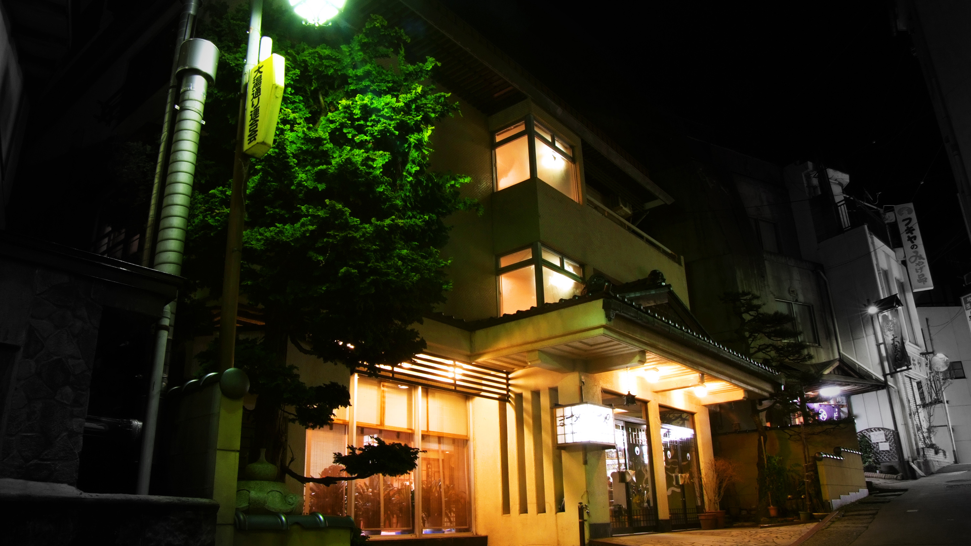 野沢温泉 源泉かけ流しの温泉宿 ますや旅館
