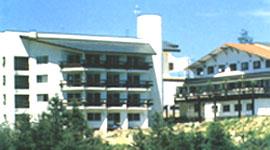 ホテル斑尾ランバーズ・インの外観