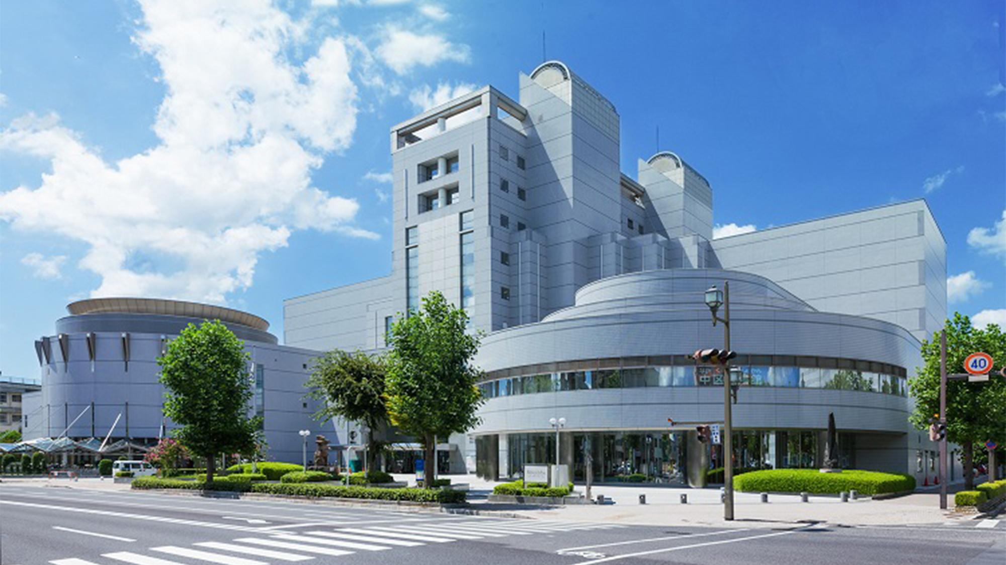 JMSアステールプラザ 広島市国際青年会館