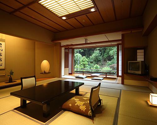 長門湯本温泉 大谷山荘の部屋画像