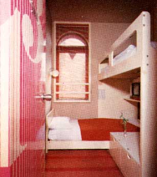 Double-Deck Bed Room