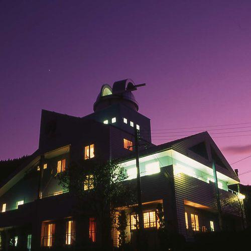 #兵庫県の温泉宿 神鍋温泉 オーベルジュ アルビレオ天文台 #天文台のある宿