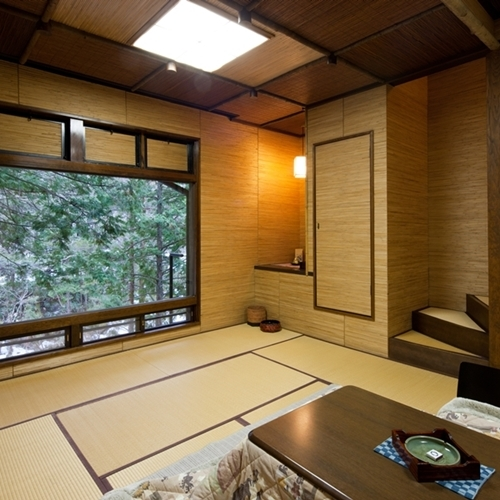 Main Building Standard WITH VIEW BATH Japanese-Style Room with Cypress Bath