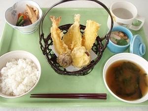 食事天ぷら