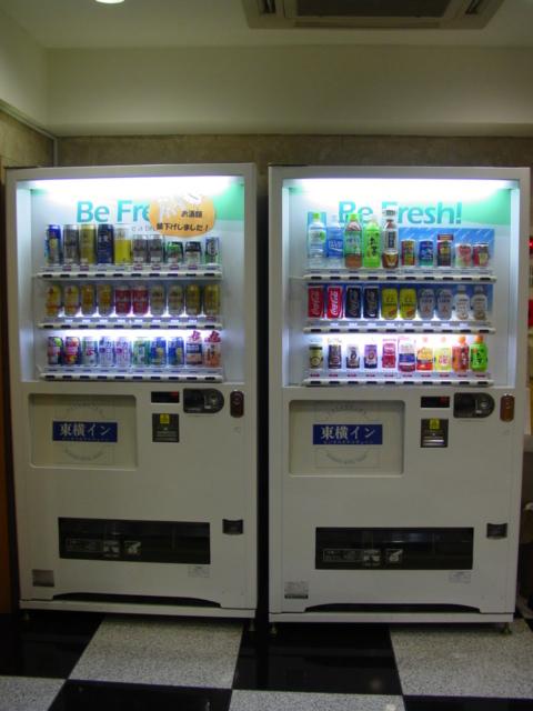 ロビー 自動販売機