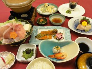 十勝プラン 夕食一例 2015.2