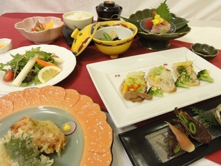 2013年春の「ぽぷり」プランご夕食