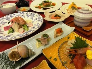 2013年春の「十勝」プランご夕食