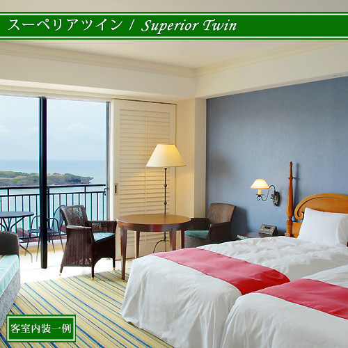 Superior Scenic View Twin Room 41 to 45 Sq M