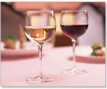 赤白ワイン付