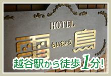 越谷駅から徒歩1分 ホテル写真