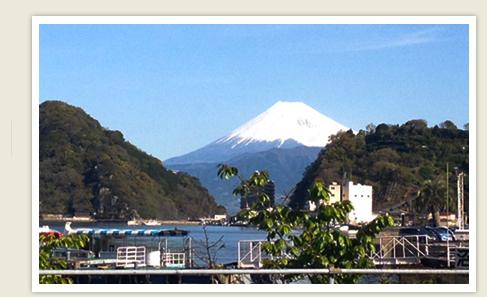季節の富士山