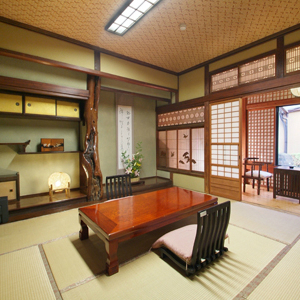 MAIN BUILDING STANDARD WATER VIEW JAPANESE STYLE ROOM Room Size 10 to 15 sqm