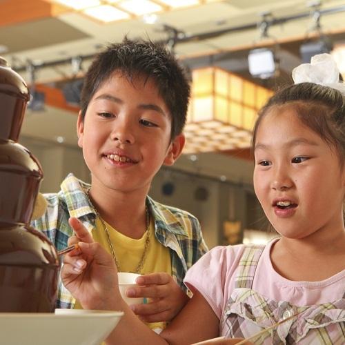 大人も子供も大好き!チョコファウンテン