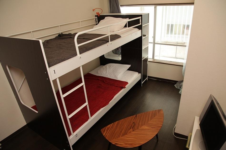 個室、シングルルーム。割引サービス有♪【 ドミトリーが不安な方はこちらへ。無線LAN有】現金特価