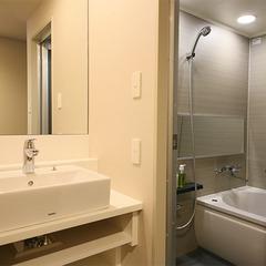 全室に独立型バスルームを設置