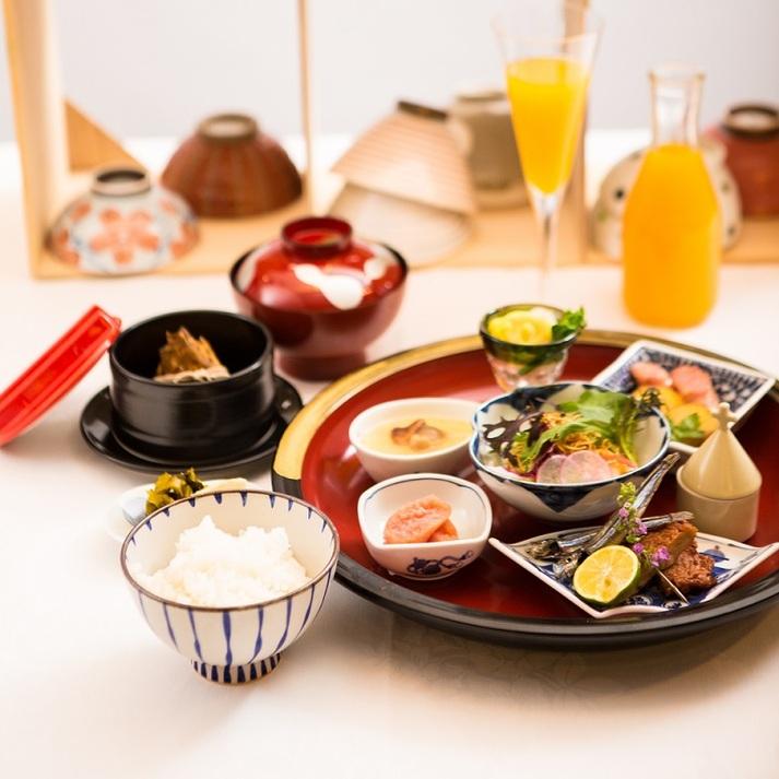 【さき楽14】【朝食付き】長崎の人が愛する朝ごはん/和・洋・中がミックスした「和華蘭朝食」