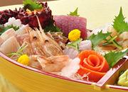 【三陸の海の幸を贅沢に!夕朝食2食付き】★★舟盛り付き!くろさき★★プラン