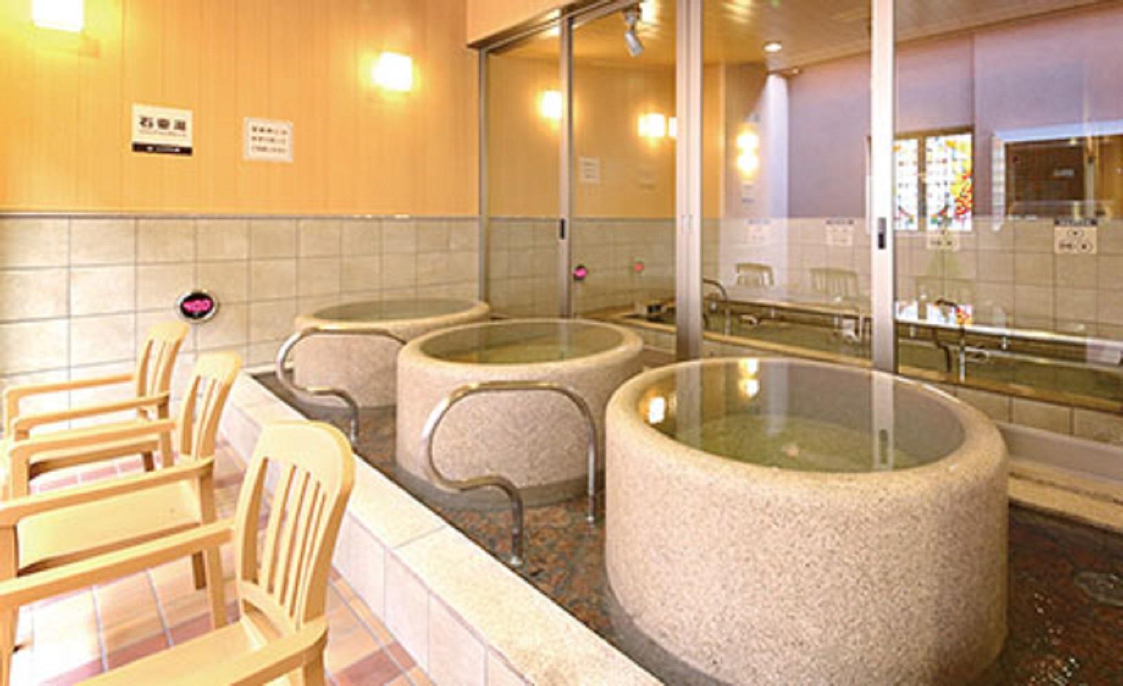 【早決28】28日前の早期予約で計画的に♪天然温泉「みなぴりかの湯」と12時チェックOUT【さき楽】