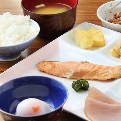 【朝食付プラン】ビジネスにオススメ♪夕食が付かないからチェックインは22時までOK!