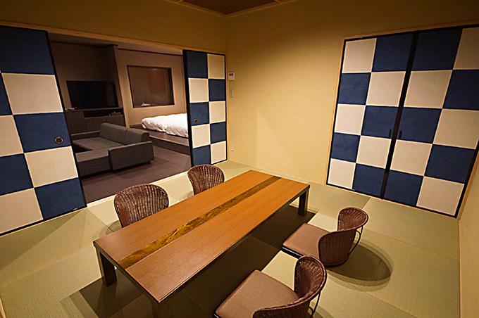 広々とした客室面積で和室もご利用いただけます