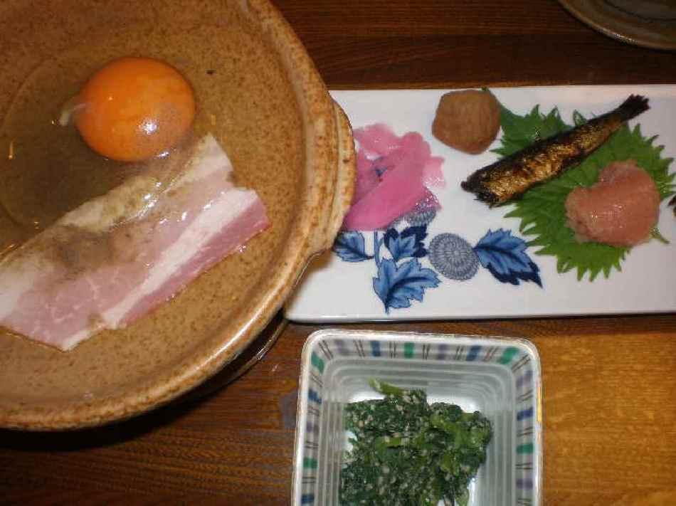 自家製天日干しササニシキと無添加味噌汁orすまし汁+手作り料理の朝食付プラン