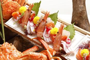千松の代名詞「元祖日本一 船盛り料理」